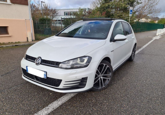 Annonce occasion, vente ou achat '2014 Volkswagen GOLF 7 GTD 2.0'