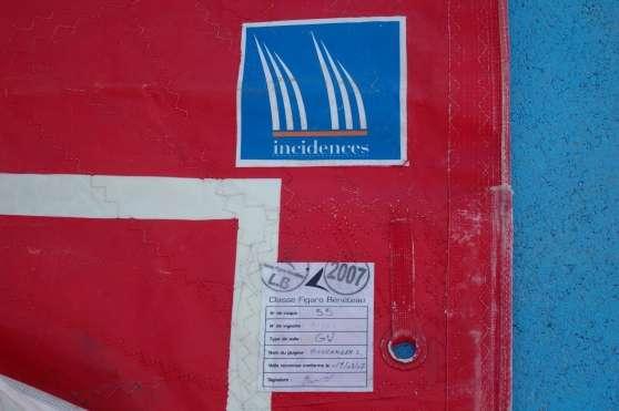 Jeu de voiles figaro nautisme voilerie voile m ts port st louis du rh ne reference nau - Code postal port saint louis ...