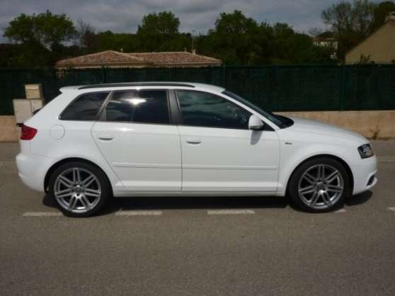 audi a3 ii sportback 2 0 tdi 140 dpf s l montpellier auto audi montpellier reference aut. Black Bedroom Furniture Sets. Home Design Ideas