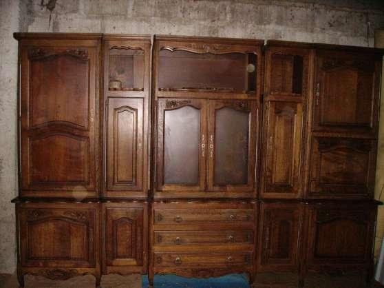 salle à manger rustique chêne
