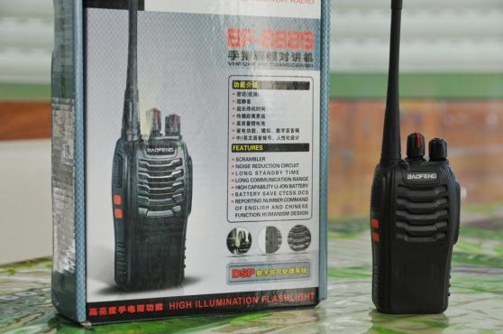 Walkie-Talkie UHF Baofeng BF888s 5Watts