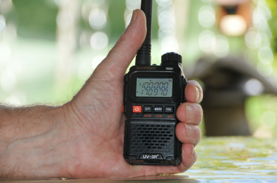Walkie-Talkie VHF-UHF Baofeng UV-3R+
