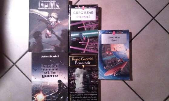 Annonce occasion, vente ou achat 'Collection de livre de Science-fiction'