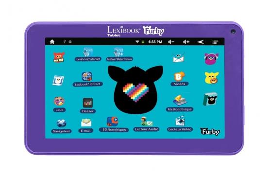 Tablette enfant Lexibook FURBY neuve