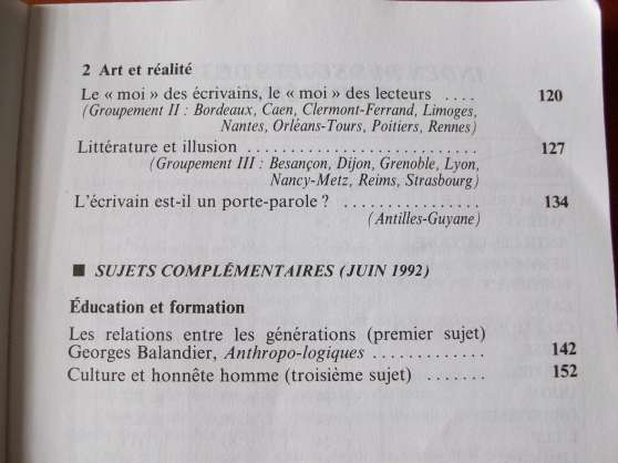 Millésimés Bordas Bac français 94 - Photo 4