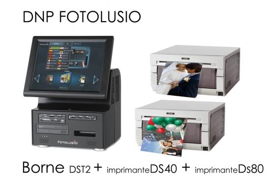 Borne Photo Pro +Imprimante DS40 +DS80