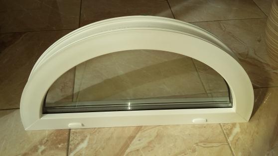 Fenêtre Demi Lune Pvc Neuve Matériaux De Construction Portes