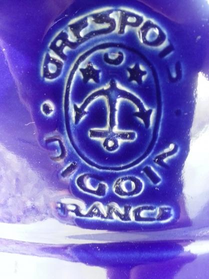 Pot céramique Sarreguemine Bleu Roy - Photo 3