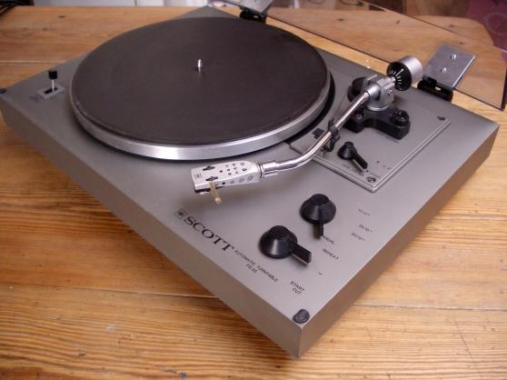 Platine vinyles vintage scott ps 36 audio t l dvd cd tourne disques - Achat platine vinyle vintage ...