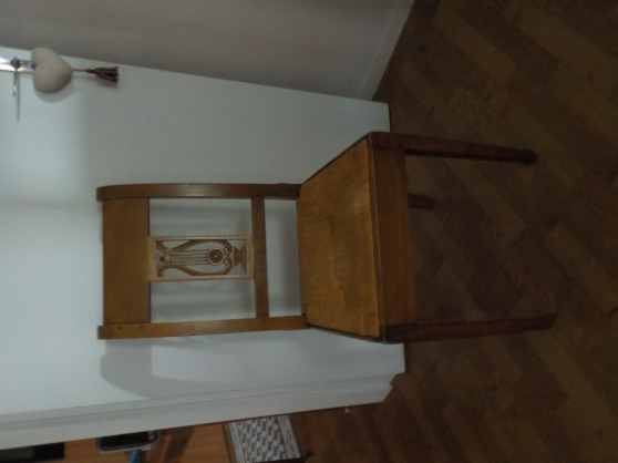 Annonce occasion, vente ou achat '6 chaises paillées'