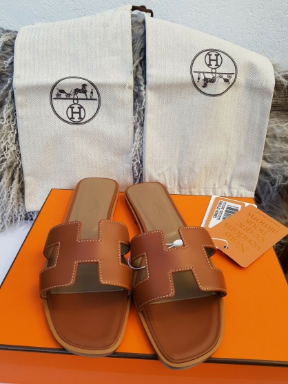 Sandales Hermès Oran Pointure 37.5 made