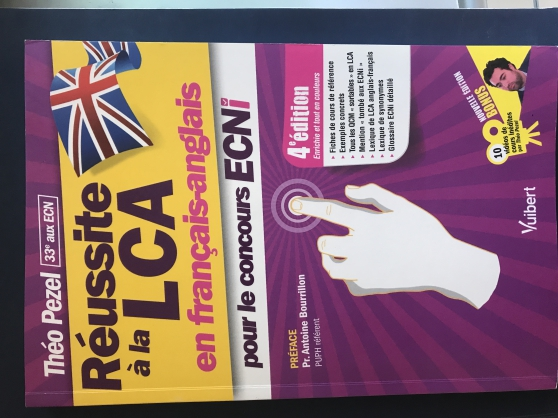 Annonce occasion, vente ou achat 'Réussite LCA francais anglais ECNi'