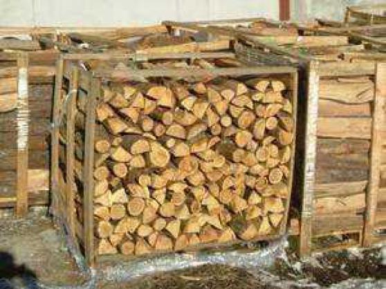 Caisse de bois de chauffage Chêne ultra