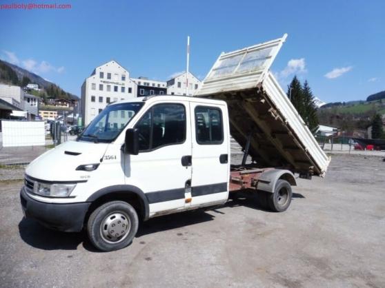 Annonce occasion, vente ou achat 'Iveco 35C13 tribenne 3500kg 7 places'