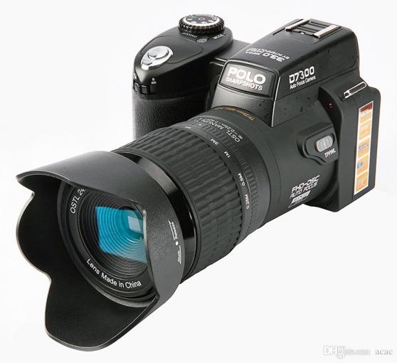 Cameraman amateur