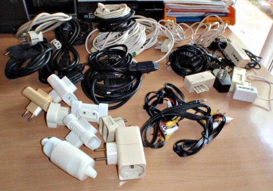 Annonce occasion, vente ou achat 'Lot de prises et câbles'