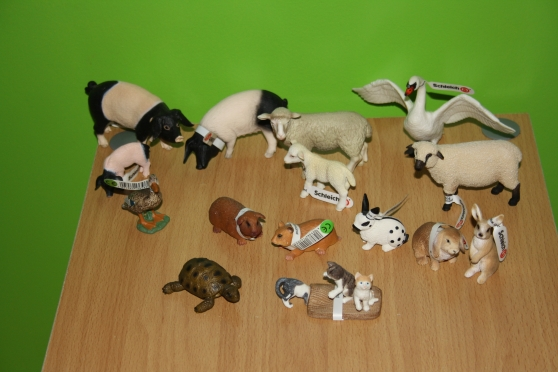 lot animaux de la ferme schleich anse collections figurines anse reference col fig lot. Black Bedroom Furniture Sets. Home Design Ideas