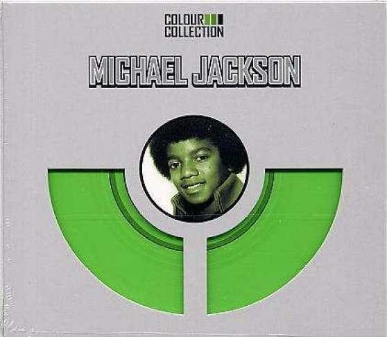Petite Annonce : Vend cd michael jackson - MICHAEL JACKSON DISQUE COLOUR COLLECTION VERT 15 TITRES DE 1971 à