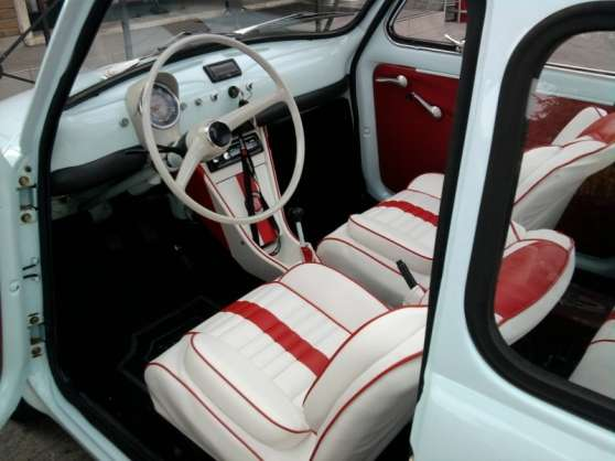 housses de si ge pour ancienne fiat 500 paris auto. Black Bedroom Furniture Sets. Home Design Ideas