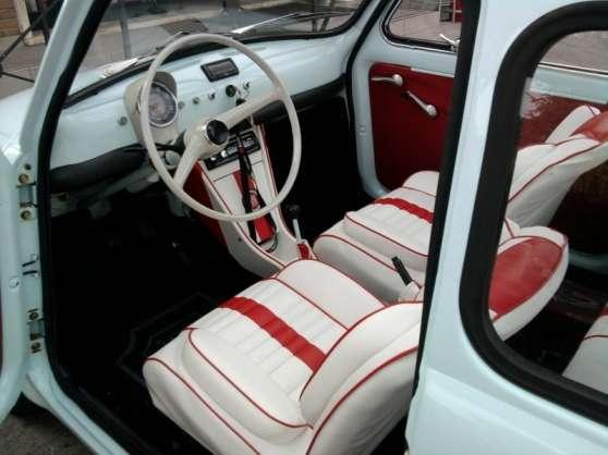 Housses de si ge pour ancienne fiat 500 paris auto for Accessoire auto interieur