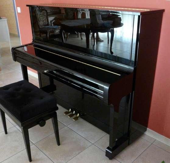 PIANO DROIT YAMAHA U1A NOIR ETAT NEUF ! - Photo 2