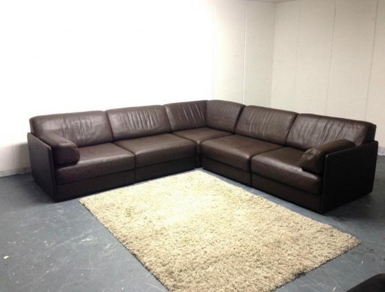 De sede ds 76 canap en cuir canap modu paris meubles for Reparation canape cuir paris