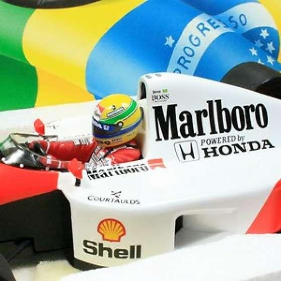 Miniature F1 Minichamps Spark Hotwheels