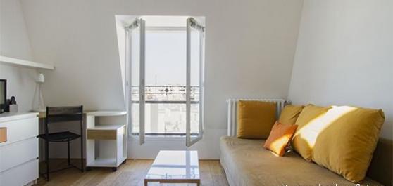 Studio meublé à Paris 6ème de 22m²