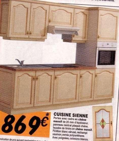 recherche facades cuisine sienne forbach meubles. Black Bedroom Furniture Sets. Home Design Ideas