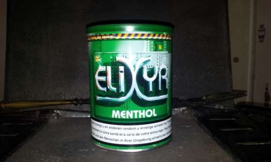 Annonce occasion, vente ou achat '3 boites ELIXYR Menthol 150g'