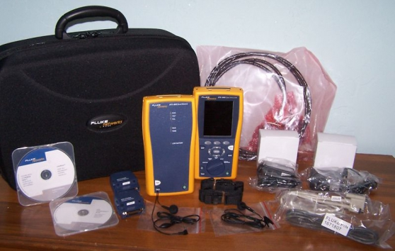 Annonce occasion, vente ou achat 'Fluke Networks DTX 1800 analyseur'