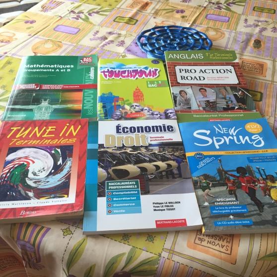 lot de livres scolaires neufs