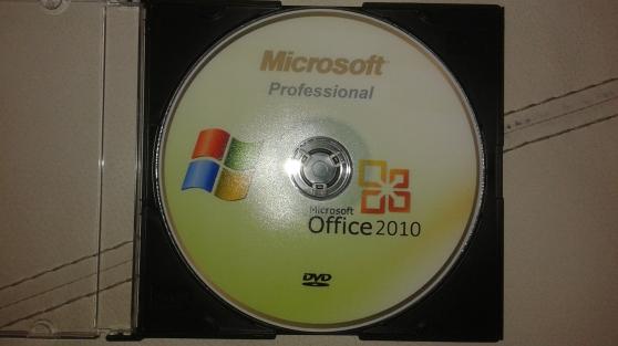 Petite Annonce : Microsoft office professional plus 2010 - Suite Microsoft OFFICE Professional Plus 2010 composée de 10