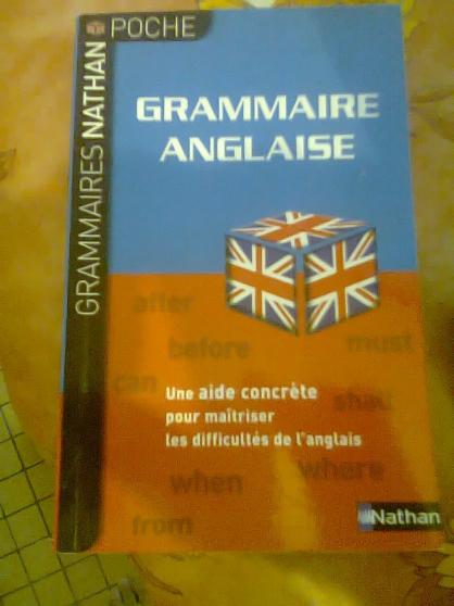 livre de grammaire anglaise de poche