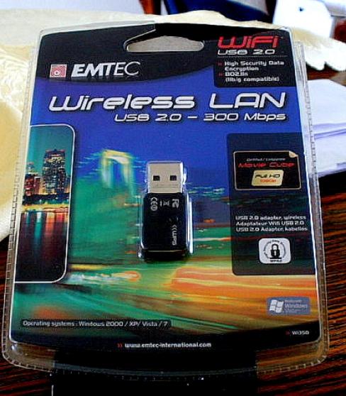 Adaptateur sans fil USB 2.0 WIFI 802.11n