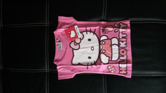 tee shirt hello kitty neuf avec etiquett - Photo 2