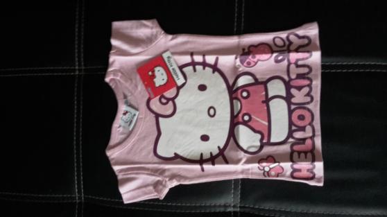tee shirt hello kitty neuf avec etiquett - Photo 3