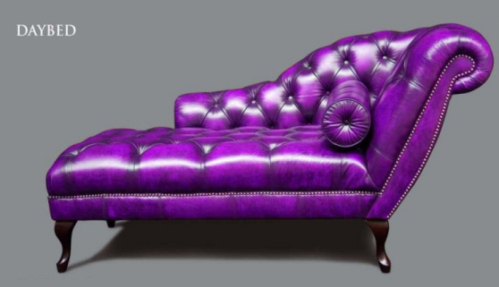 Canapé lit Chesterfield Daybed (nom)