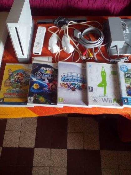 Annonce occasion, vente ou achat 'Wii blanche à voir!!!'