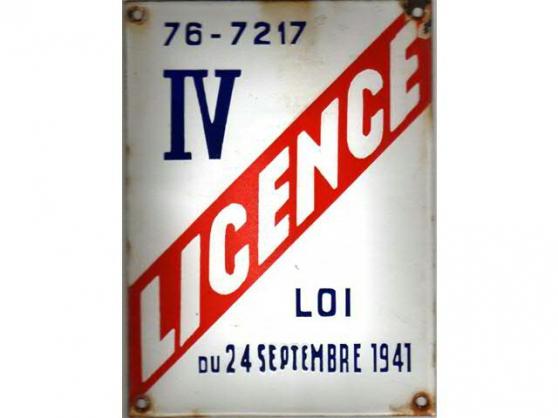 Annonce occasion, vente ou achat 'CASSIS, unique licence IV'