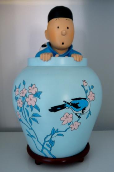 Annonce occasion, vente ou achat 'Vds Figurine PIXI 1991 TINTIN Lotus bleu'