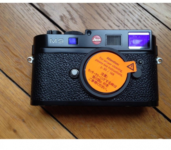 Boitier Leica M9 Noir complet avec boîte