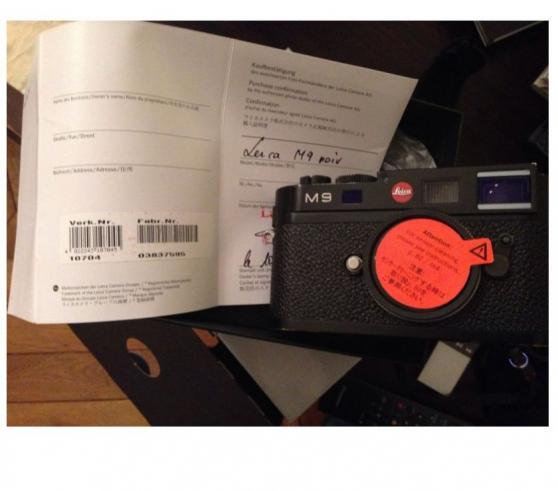 Boitier Leica M9 Noir complet avec boîte - Photo 4