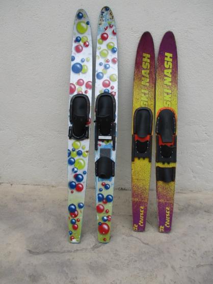 2 paires de ski nautique - Photo 2