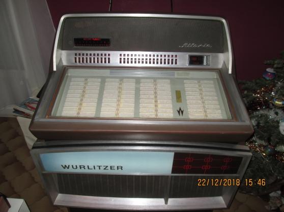 juke box wurlitzer atlanta 1971 - Annonce gratuite marche.fr