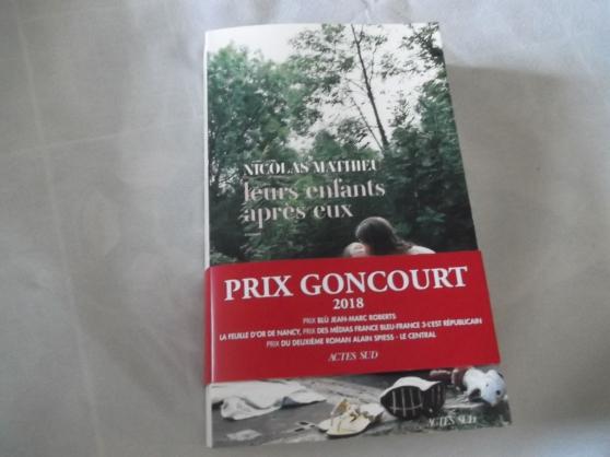 Annonce occasion, vente ou achat 'Leurs enfants après eux - Prix Goncourt'
