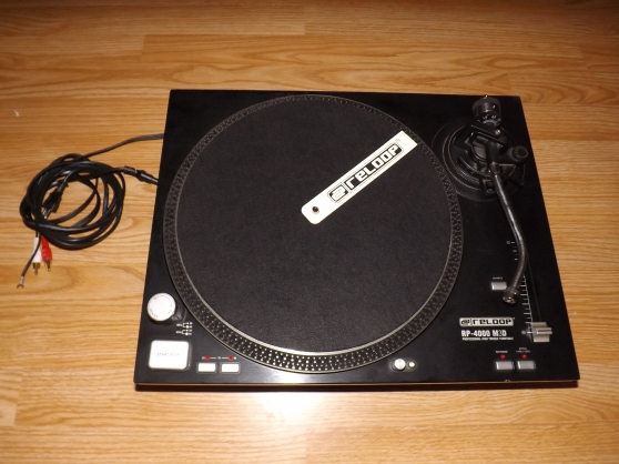 Platine vinyle RP 4000 M3D LTD