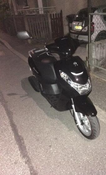Peugeot Kisbee 50cc 4t noir