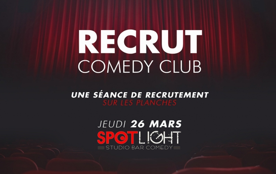 Le Recrut Comedy Club – Lille 2020