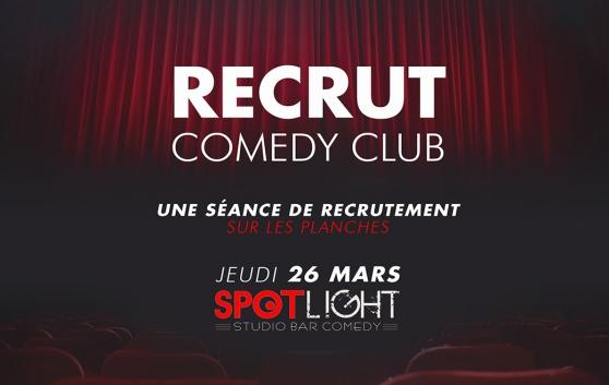 Annonce occasion, vente ou achat 'Le Recrut Comedy Club – Lille 2020'